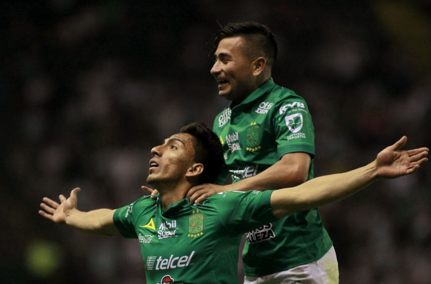 Angel Mena and Leon seem to have found their stride, and they'll need to be at their best to defeat visiting Santos on Wednesday. (Photo by Cesar Gomez/Jam Media/Getty Images)