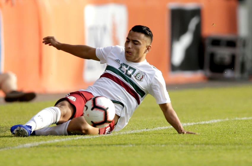 DOETICHEM, NETHERLANDS - MAY 31: Jairo Torres of Mexico U21 during the match between Holland U21 v Mexico U21 at the De Vijverberg on May 31, 2019 in Doetichem Netherlands (Photo by Peter Lous/Soccrates/Getty Images)