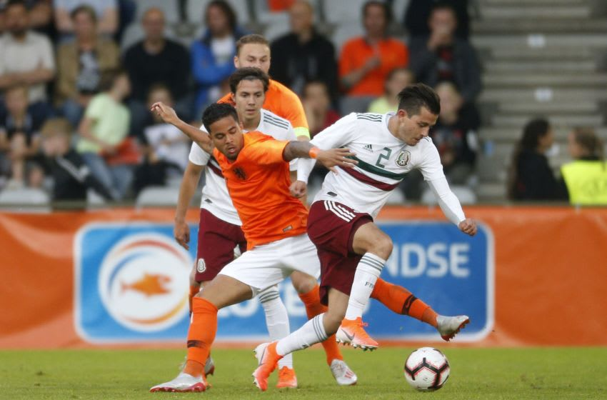 International friendly match match between The Netherlands U21 and Mexico U21 at the Vijverberg stadium on May 31, 2019 in Doetinchem, The Netherlands(Photo by VI Images via Getty Images)