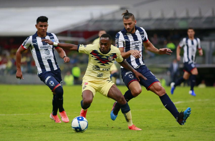 Monterrey and América will fight over the Apertura 2019 trophy beginning on Dec. 26 with the Gran Final scheduled for Dec. 29. (Photo by Mauricio Salas/Jam Media/Getty Images)