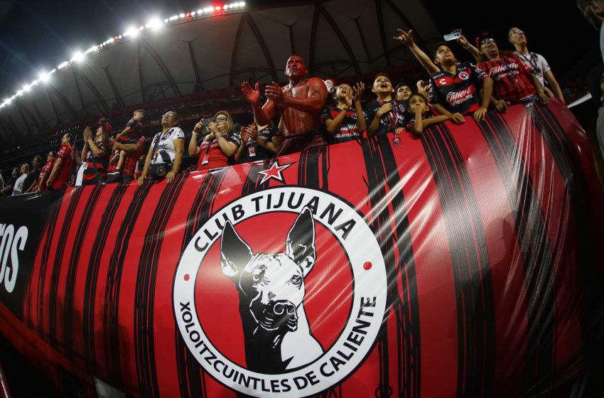 Tijuana fans cheered their Xolos to victory. (Photo by Gonzalo Gonzalez/Jam Media/Getty Images)