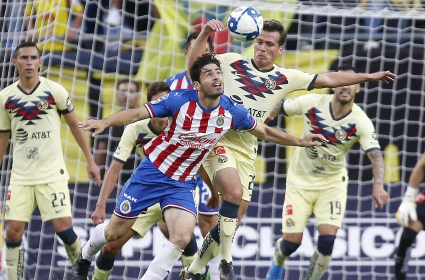 America and the Chivas played a Super Clasico