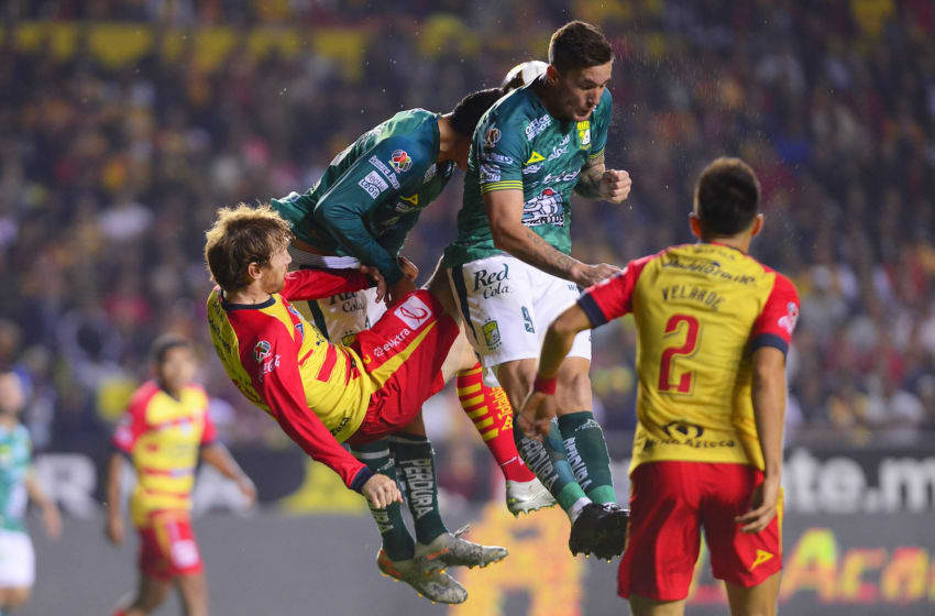 Seventh-seeded Morelia turned their quarterfinal match against No. 2 León into a brawl and came away with a draw. (Photo by Jaime Lopez/Jam Media/Getty Images)