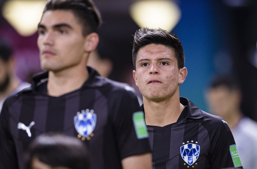 DOHA, QATAR - DECEMBER 21: Jonathan Gonzalez of Monterrey getting into the field during the FIFA Club World Cup 3rd place match between Monterrey and Al Hilal FC at Khalifa International Stadium on December 21, 2019 in Doha, Qatar. (Photo by Marcio Machado/Eurasia Sport Images/Getty Images)