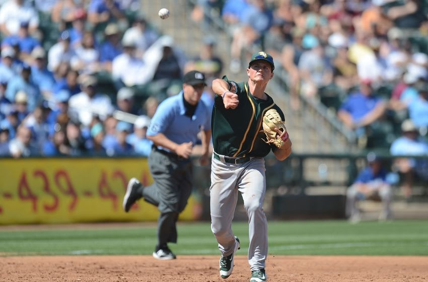 Matt Chapman. Mandatory Credit: Joe Camporeale-USA TODAY Sports