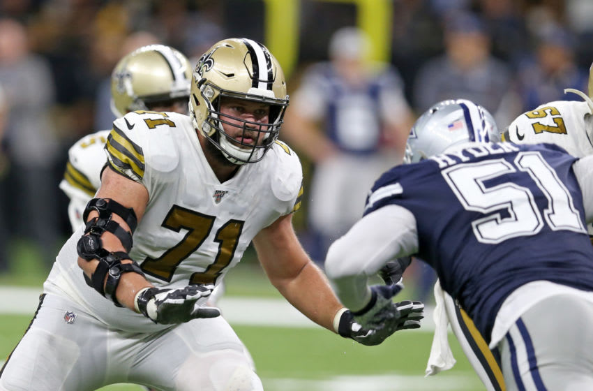 New Orleans Saints offensive tackle Ryan Ramczyk (71) - Mandatory Credit: Chuck Cook-USA TODAY Sports