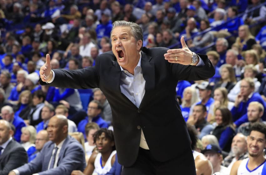 John Calipari the head coach of the Kentucky Wildcats (Photo by Andy Lyons/Getty Images)