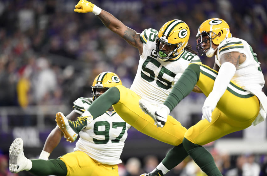 Za'Darius Smith #55 of the Green Bay Packers (Photo by Hannah Foslien/Getty Images)