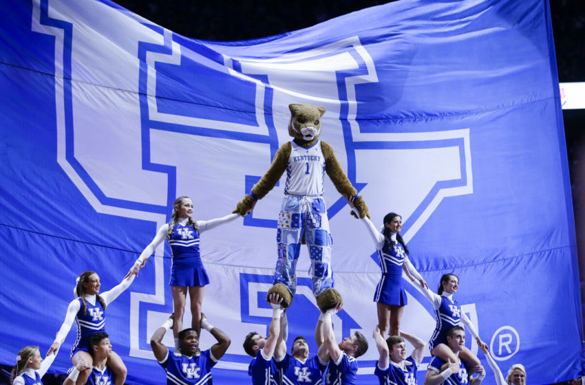 The Kentucky Wildcats . (Photo by Silas Walker/Getty Images)