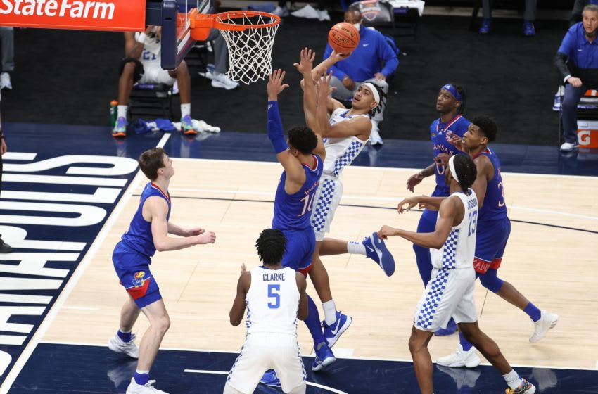 Jacob Tobin #0 of the Kentucky Wildcats. (Photo by Andy Lyons/Getty Images)