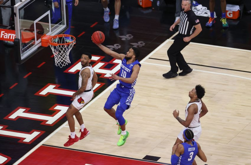 Davion Mintz of the Kentucky Wildcats. (Photo by Andy Lyons/Getty Images)