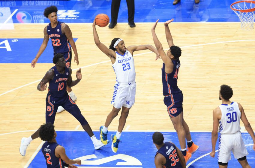 Isaiah Jackson of the Kentucky Wildcats. (Photo by Andy Lyons/Getty Images)