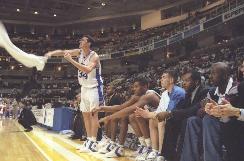 Scott Padgett of the Kentucky Wildcats