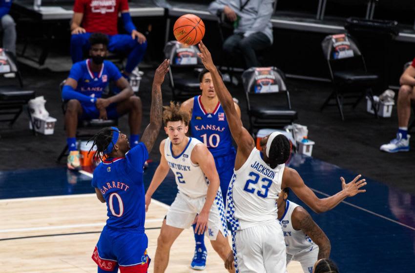 Kentucky Wildcats verses Kansas (Credit: Trevor Ruszkowski-USA TODAY Sports)