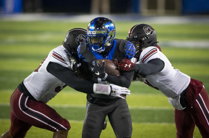 Kentucky Wildcats wide receiver Josh Ali: Arden Barnes-USA TODAY Sports