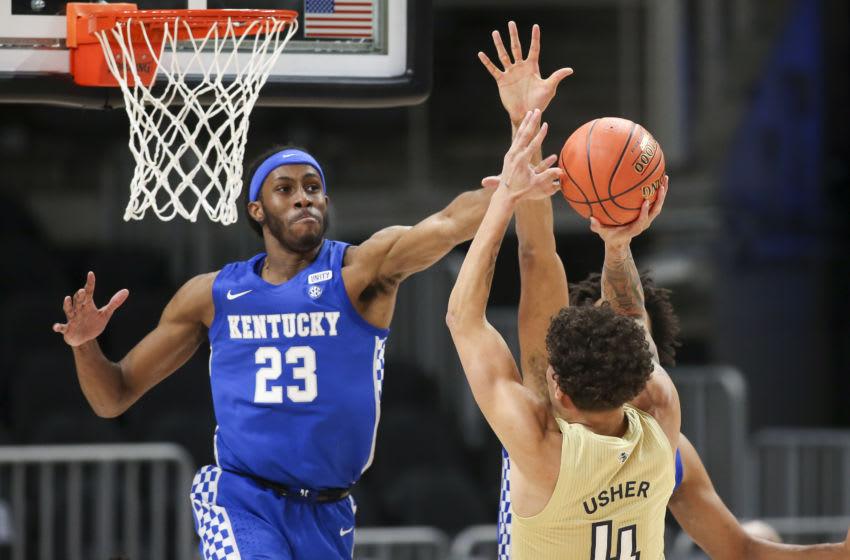 Kentucky Wildcats forward Isaiah Jackson . Brett Davis-USA TODAY Sports
