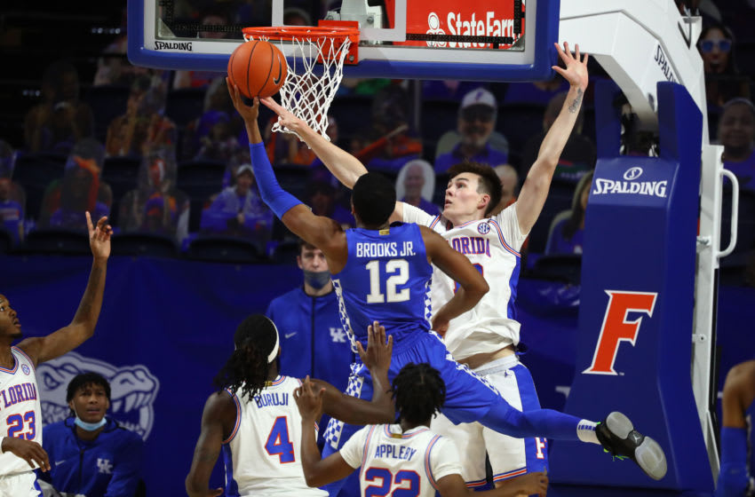 Kentucky Wildcats forward Keion Brooks Jr. Credit: Kim Klement-USA TODAY Sports