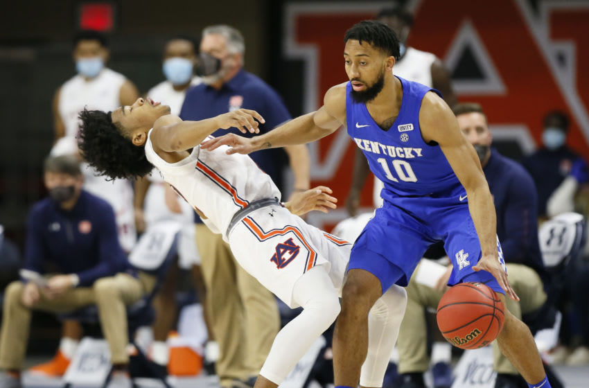 Kentucky Wildcats guard Davion Mintz .Credit: John Reed-USA TODAY Sports