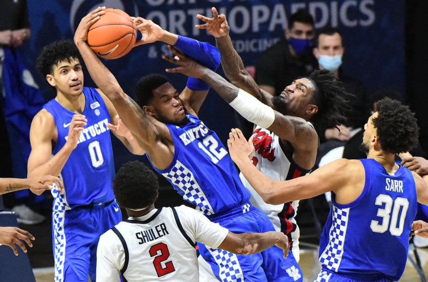 Kentucky Wildcats forward Keion Brooks (Credit: Justin Ford-USA TODAY Sports)