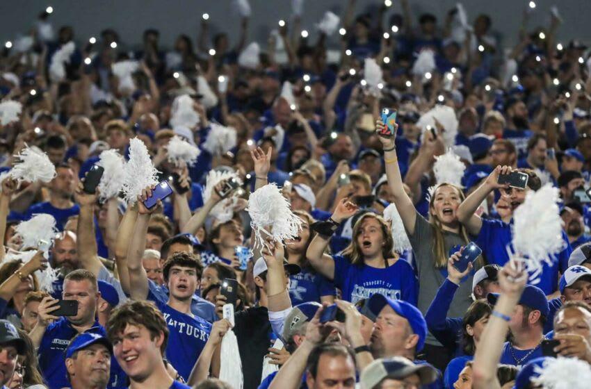 Kentucky football fans.