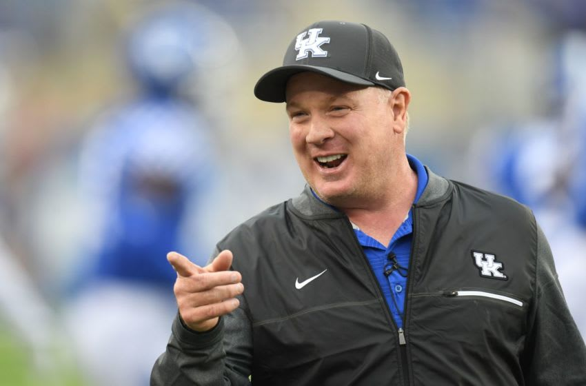 Kentucky head coach Mark Stoops