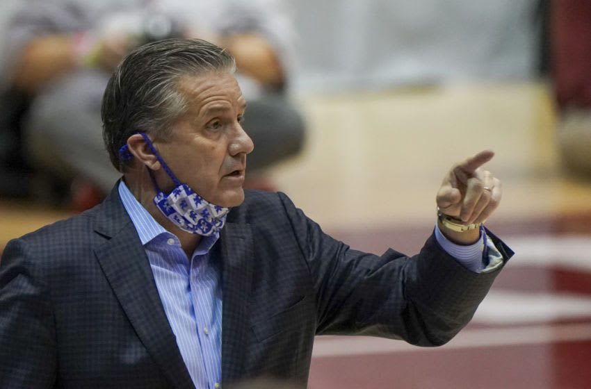 Kentucky Wildcats head coach John Calipari (Credit: Marvin Gentry-USA TODAY Sports)