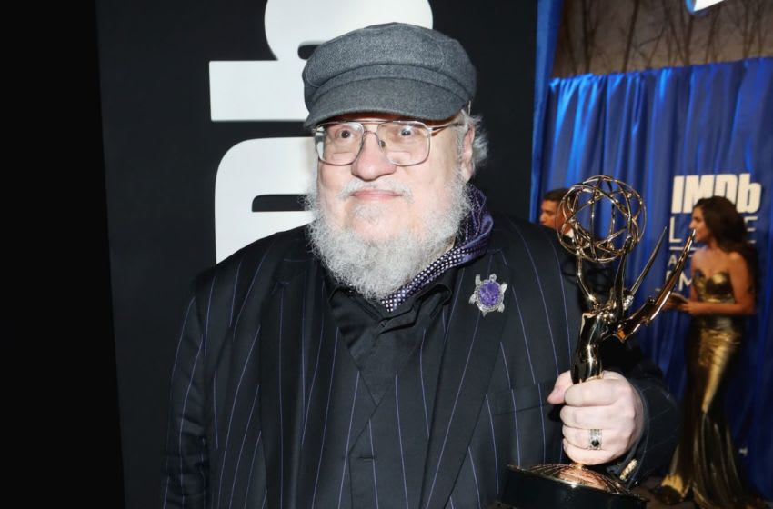 LOS ANGELES, CA - SEPTEMBER 17: (EDITORS NOTE: Retransmission with alternate crop.) Writer George R. R. Martin, winner of Outstanding Drama Series for 'Game of Thrones', attends IMDb LIVE After The Emmys 2018 on September 17, 2018 in Los Angeles, California. (Photo by Rich Polk/Getty Images for IMDb)