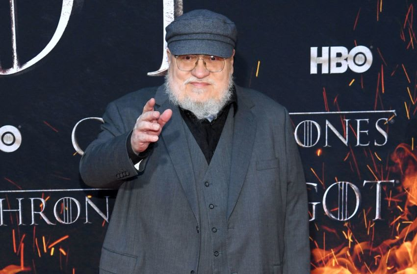 NEW YORK, NEW YORK - APRIL 03: George R. R. Martin attends the