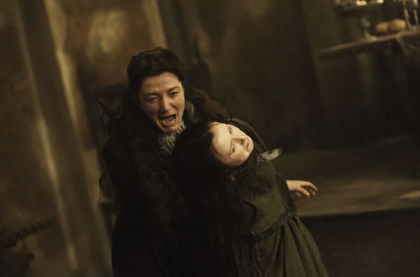Fairley as Catelyn Stark in Season 3, Episode 9. Helen Sloan/HBO