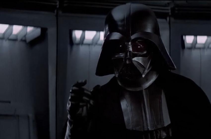 Darth Vader in Star Wars A New Hope. Lucasfilm (screenshot)