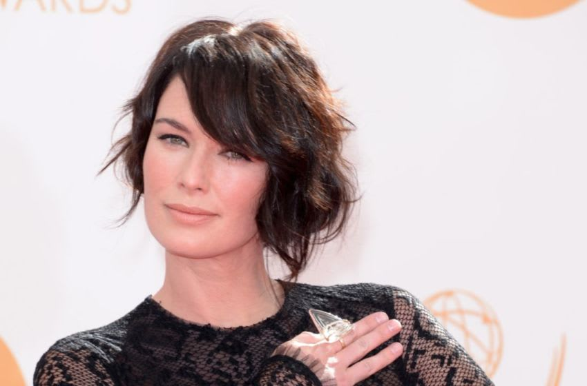 LOS ANGELES, CA - SEPTEMBER 22: Actress Lena Headey arrives at the 65th Annual Primetime Emmy Awards held at Nokia Theatre L.A. Live on September 22, 2013 in Los Angeles, California. (Photo by Jason Merritt/Getty Images)