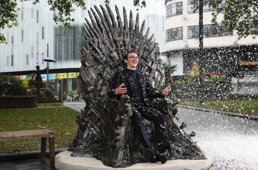 A statue of the Iron Throne from Game Of Thrones is unveiled in Leicester Square, joining Scenes in the Square, an illustrious trail of timeless film and TV characters and classic scenes from the past 100 years in London's home of entertainment. The epic statue is the tenth to join the trail and commemorates 10 years since the TV show was first aired, as well as in anticipation for HBO's release of House of the Dragon set to be released in 2022. It will be displayed until the end of October 2021.