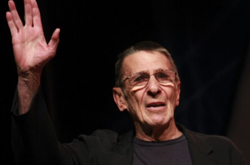 LAS VEGAS, NV - AUGUST 13: Actor Leonard Nimoy attends Day 3 of the Official Star Trek Convention at the Rio Las Vegas Hotel & Casino on August 13, 2011 in Las Vegas, Nevada. (Photo by David Livingston/Getty Images)