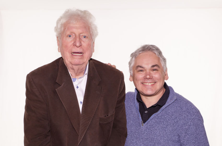 Tom Baker and Matthew Waterhouse work together for the first time in almost four decades in the Fourth Doctor Adventures. Image Courtesy: Big Finish Productions
