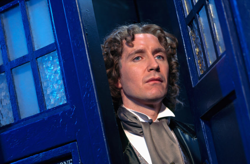 The Eighth Doctor is pushed to breaking point in this episode. Image Courtesy Aaron Rappaport/BBC