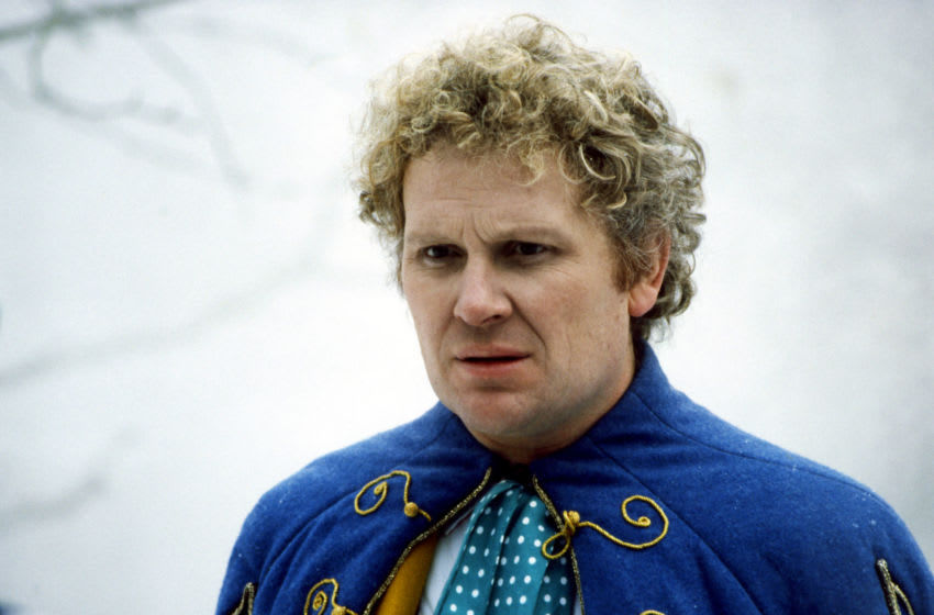 We take a look at the Sixth Doctor novel State of Change. Image Courtesy BBC Studios, BritBox