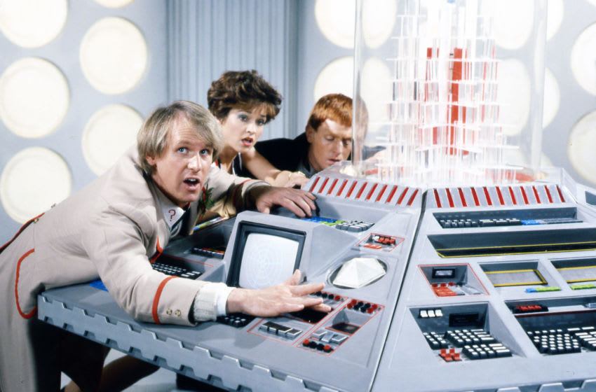The Fifth Doctor met the Daleks and Davros on-screen only once in Resurrection of the Daleks. Was it a strong return for his major enemies? Image Courtesy BBC Studios, BritBox