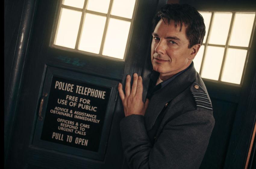 John Barrowman as Captain Jack Harkness - Doctor Who Special 2020: Revolution Of The Daleks - Photo Credit: James Pardon/BBC Studios/BBCA