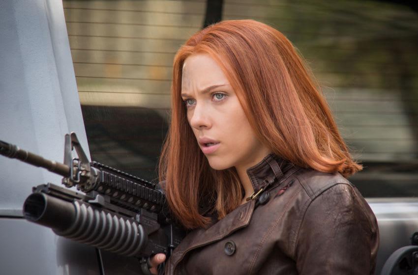 Marvel's Captain America: The Winter Soldier..Black Widow/Natasha Romanoff (Scarlett Johansson) ..Ph: Zade Rosenthal..© 2014 Marvel. All Rights Reserved.