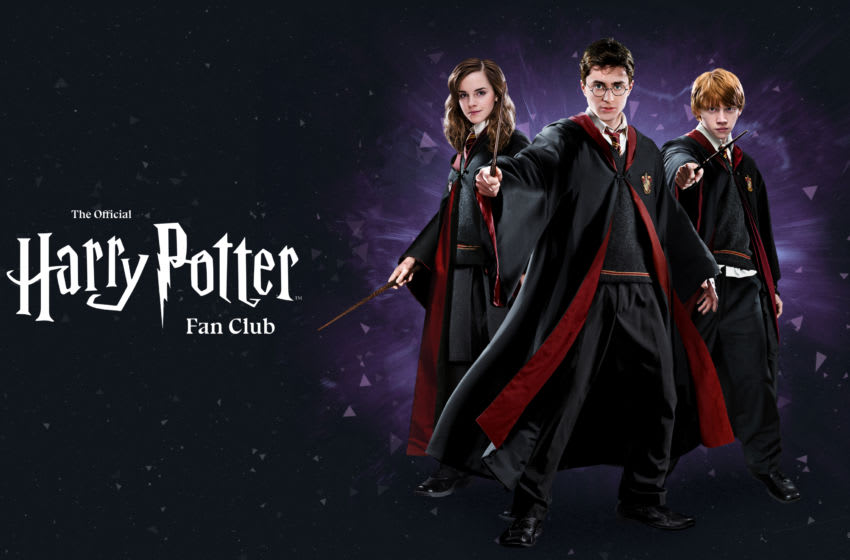 Photo: The Official Harry Potter Fan Club key art.. Image Courtesy Wizarding World Digital, Pottermore Publishing & Warner Bros. Entertainment