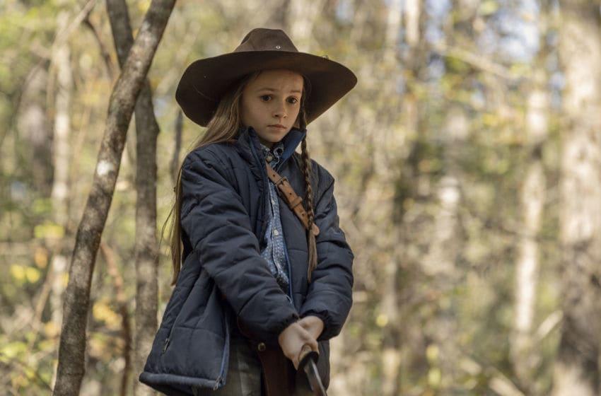 Cailey Fleming as Judith Grimes - The Walking Dead _ Season 10, Episode 15 - Photo Credit: Jackson Lee Davis/AMC