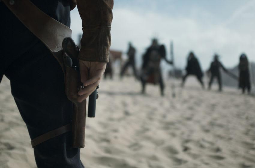 Alden Ehrenreich est Han Solo dans SOLO: A STAR WARS STORY.