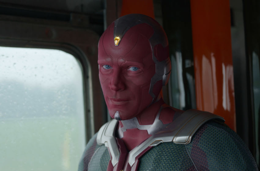 Paul Bettany as Vision in Marvel Studios' WANDAVISION. Photo courtesy of Marvel Studios. ©Marvel Studios 2021. All Rights Reserved.