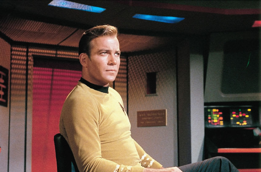 """Nov. 2, 2015 – CBS Television Studios announced today it will launch a totally new """"Star Trek"""" television series in January 2017. The brand-new """"Star Trek"""" will introduce new characters seeking imaginative new worlds and new civilizations, while exploring the dramatic contemporary themes that have been a signature of the franchise since its inception in 1966. The new series will blast off with a special preview broadcast on the CBS Television Network. The premiere episode and all subsequent first-run episodes will then be available exclusively in the United States on CBS All Access, the Network's digital subscription video on demand and live streaming service. Pictured: William Shatner as Capt. James T. Kirk in STAR TREK (The Original Series) Photo: ©1966 CBS Broadcasting Inc. All Rights Reserved"""