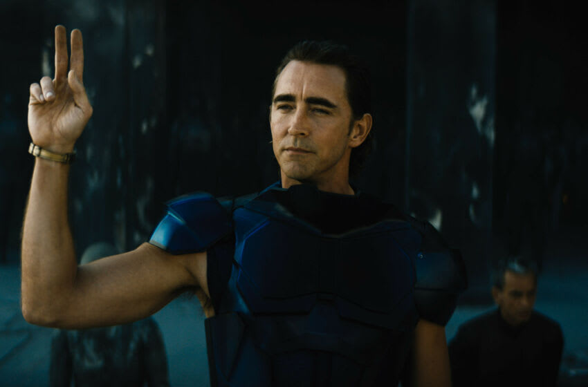 """Lee Pace in """"Foundation,"""" premiering September 24, 2021 on Apple TV+."""