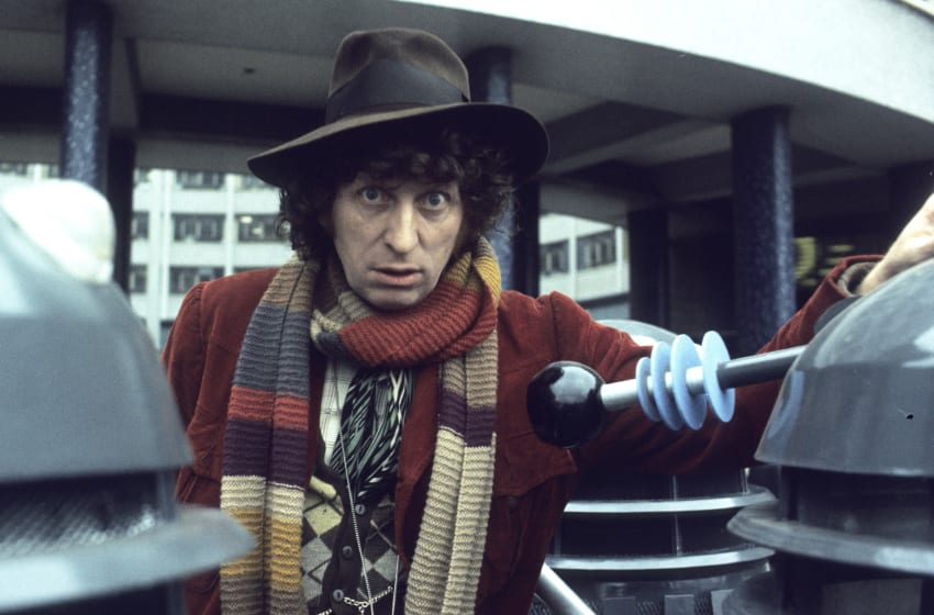 Doctor Who has given us many great horror stories over the years - many of which starred the much-loved Tom Baker. Here are 20 choices perfect for horror fans. (Photo by Anwar Hussein/Hulton Archive/Getty Images)