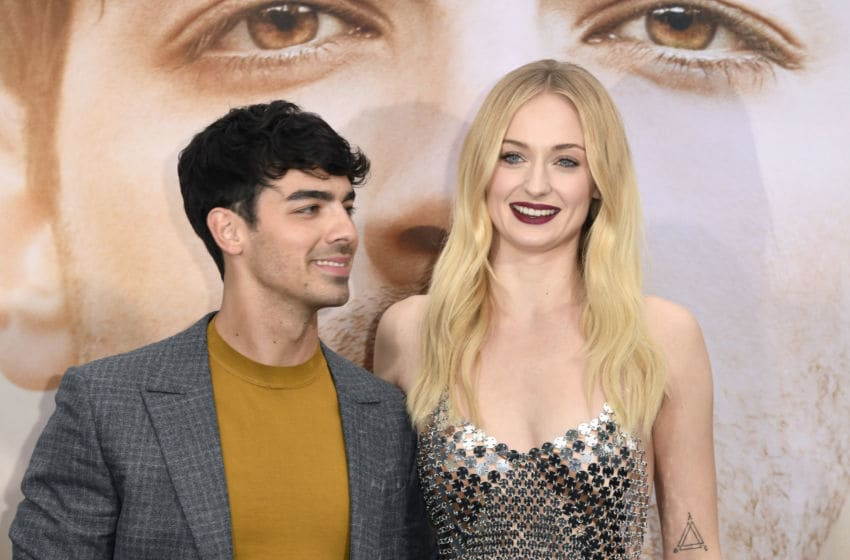 LOS ANGELES, CALIFORNIA - JUNE 03: Joe Jonas (L) and Sophie Turner attend the Premiere of Amazon Prime Video's 'Chasing Happiness' at Regency Bruin Theatre on June 03, 2019 in Los Angeles, California. (Photo by Frazer Harrison/Getty Images)