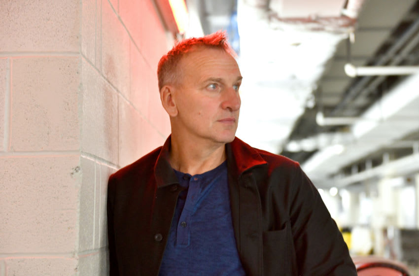 NEW YORK, NEW YORK - OCTOBER 03: Christopher Eccleston poses for a photo prior to Fantastic! A Conversation with Christopher Eccleston conversation at the New York Comic Con at Jacob K. Javits Convention Center on October 03, 2019 in New York City. (Photo by Craig Barritt/Getty Images for ReedPOP )