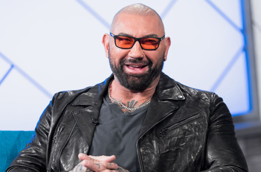 SANTA MONICA, CALIFORNIA - FEBRUARY 21: Dave Bautista visit's 'The IMDb Show' on February 21, 2020 in Santa Monica, California. This episode of 'The IMDb Show' airs on March 5, 2020. (Photo by Rich Polk/Getty Images for IMDb)