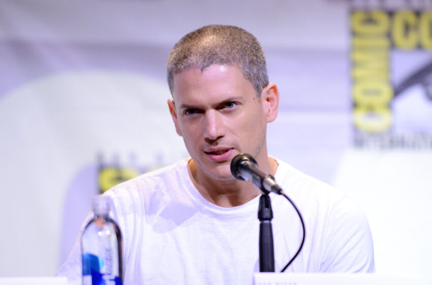 SAN DIEGO, CA - JULY 24: Actor Wentworth Miller attends the Fox Action Showcase: